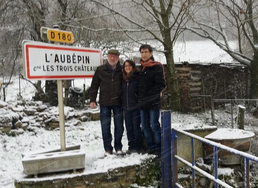 2016 – Mme SERAND Agnès et Mrs GIRAULT Alain & RICHARD Jean-Jacques